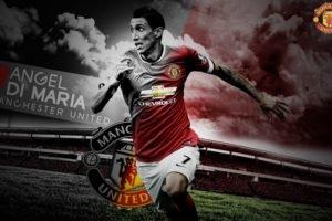 Manchester United, Red devil, Footballers, Ángel Di María