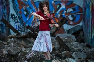 Lindsey Stirling, Women, Violin, Skirt
