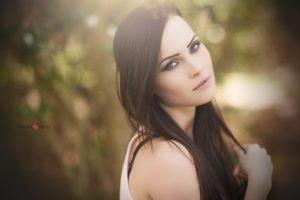 women, Model, Brunette, Women outdoors, Niece