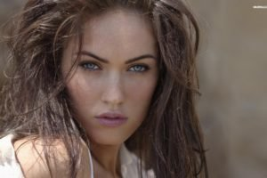 Megan Fox, Blue eyes, Model, Actress, Juicy lips, Women