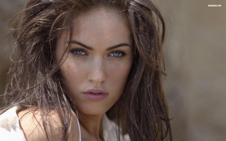 Megan Fox, Blue eyes, Model, Actress, Juicy lips, Women HD Wallpaper Desktop Background