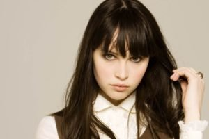 Felicity Jones, Actress, Women, Green eyes, Face