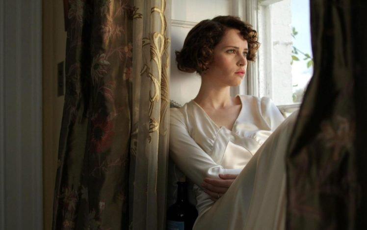 Felicity Jones, Actress, Women, Green eyes, Northanger Abbey, Short hair HD Wallpaper Desktop Background