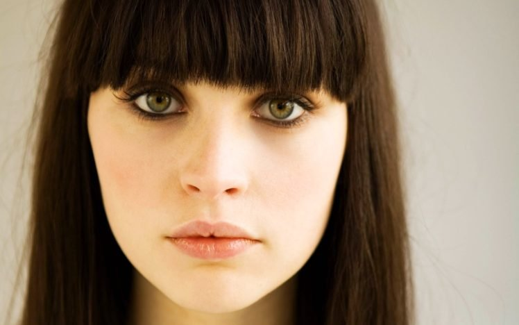 Felicity Jones, Actress, Women, Green eyes HD Wallpaper Desktop Background