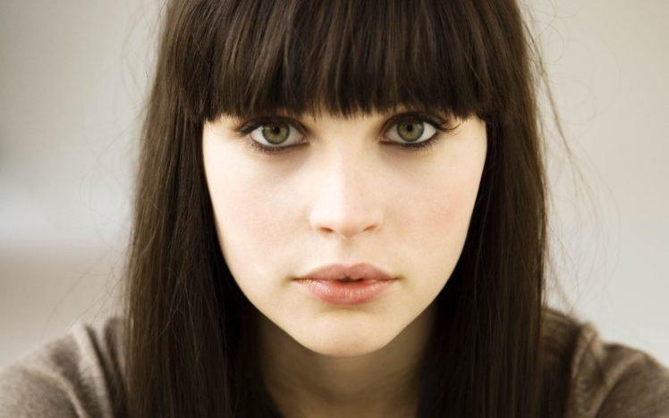 Felicity Jones, Actress, Women, Green eyes, Face HD Wallpaper Desktop Background