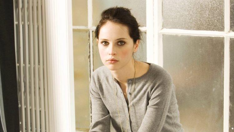 Felicity Jones, Actress, Women, Green eyes HD Wallpaper Desktop Background