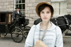 Felicity Jones, Actress, Women, Green eyes, Northanger Abbey