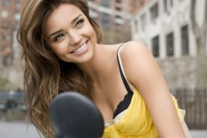 Miranda Kerr, Brunette, Women, Smiling, Model