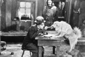 Charlie Chaplin, Film stills, Starving