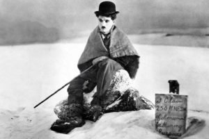 Charlie Chaplin, The Gold Rush, Film stills, Monochrome