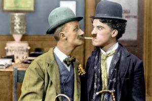 Charlie Chaplin, Colorized photos