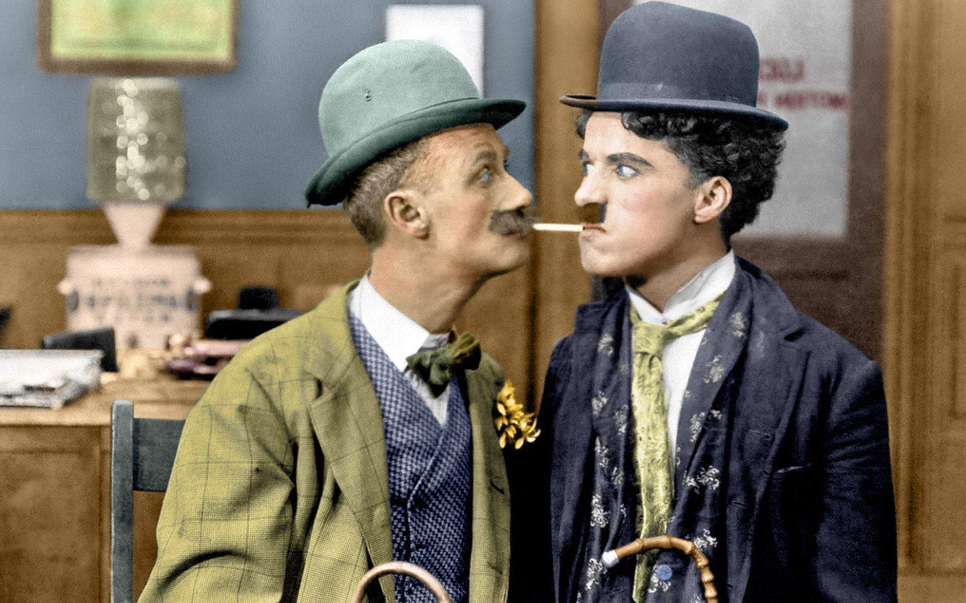 Chaplin color charlie eye Charlie Chaplin's