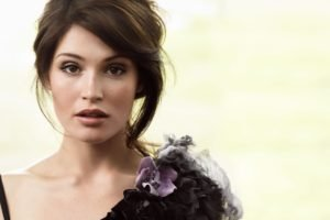 Gemma Arterton, Women, Model, Brunette, Brown eyes