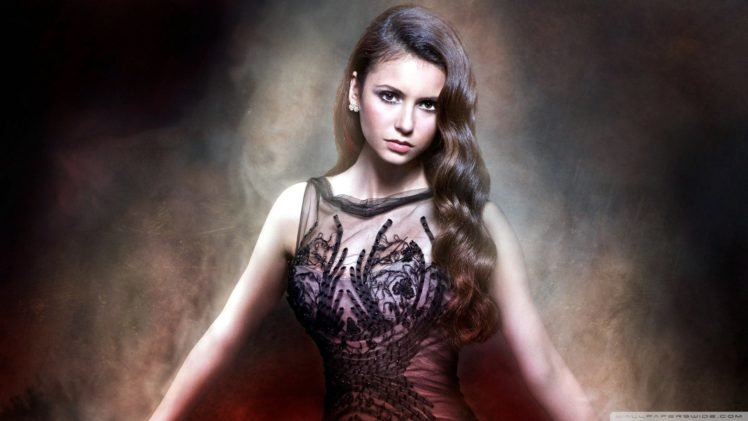 Nina Dobrev, Women, Actress, Brunette, The Vampire Diaries, Elena Gilbert HD Wallpaper Desktop Background