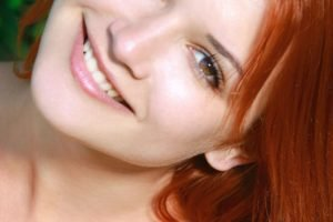 women, Model, Redhead, Violla A, Smiling, Brown eyes