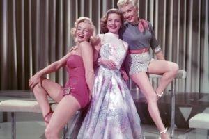 Marilyn Monroe, Lauren Bacall, Actor, Movies, Vintage