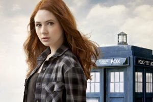 Karen Gillan, Doctor Who, TARDIS, Amy Pond