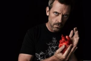 House, M.D., Gregory House, Hugh Laurie, Hearts