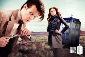 Doctor Who, Matt Smith, Karen Gillan, Amy Pond, TARDIS, Eleventh Doctor