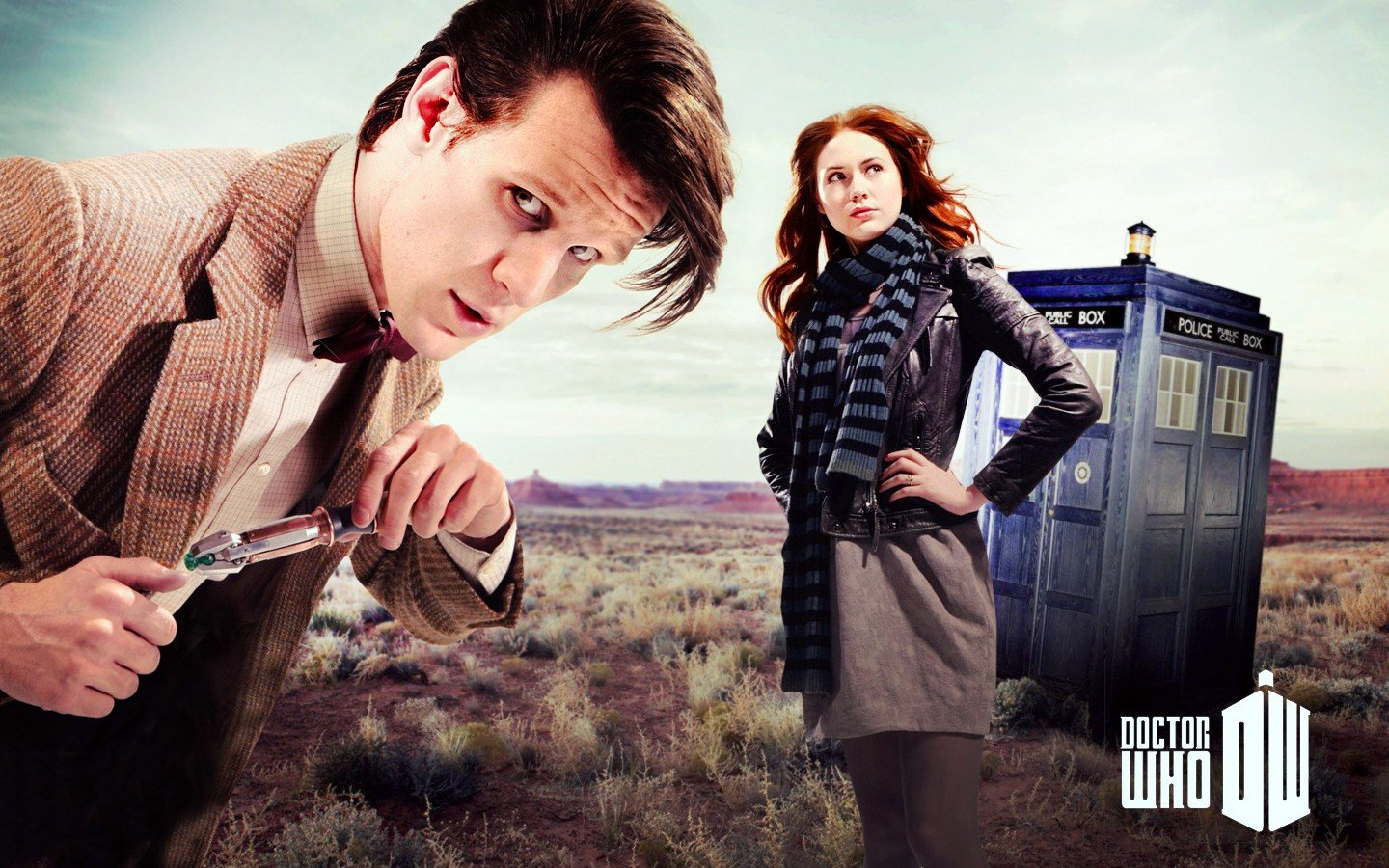 Doctor Who Matt Smith Karen Gillan Amy Pond Tardis Eleventh