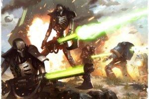 Warhammer 40, 000, Necrons, Ultramarines, Space marines