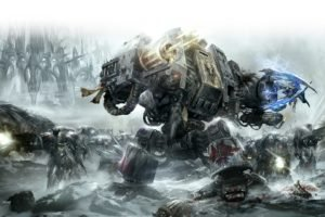 dreadnaught, Space marines, Space wolves