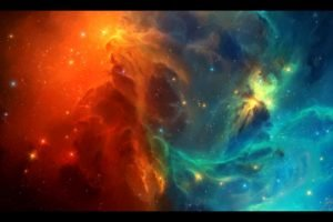 TylerCreatesWorlds, Space, Space art, Nebula, Stars, Galaxy, Digital art