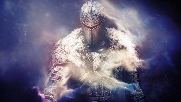 Dark Souls II, Knight, Smoke, Space HD Wallpaper Desktop Background