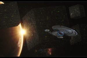 Star Trek, USS Voyager, Borg, Space