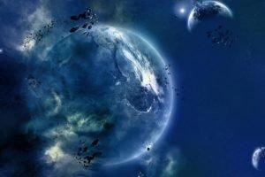 planet, Digital art, Space art, Space