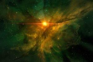 JoeyJazz, Flares, Nebula, Space art, Stars