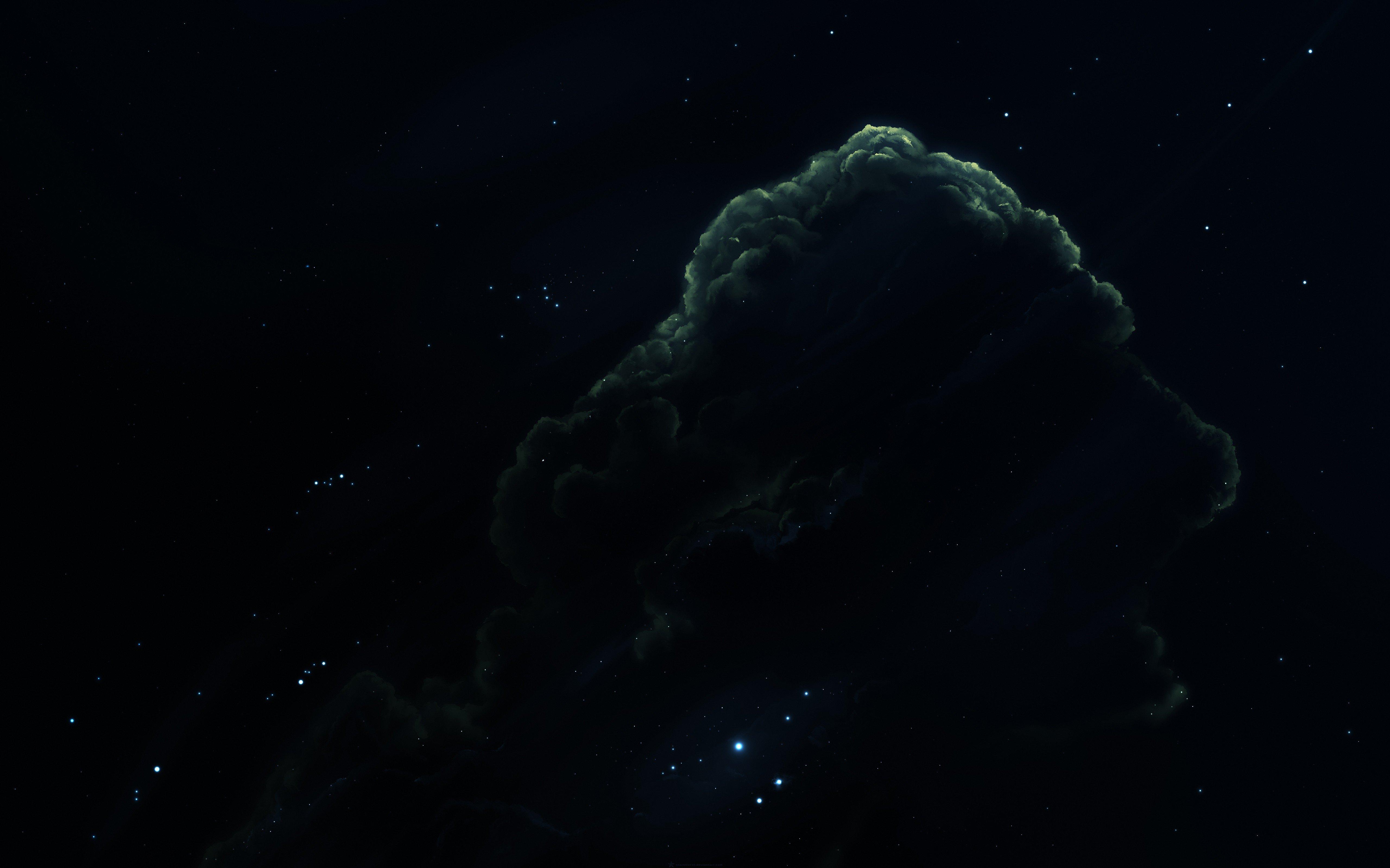 space art, Nebula, Space, Stars, Digital art Wallpaper