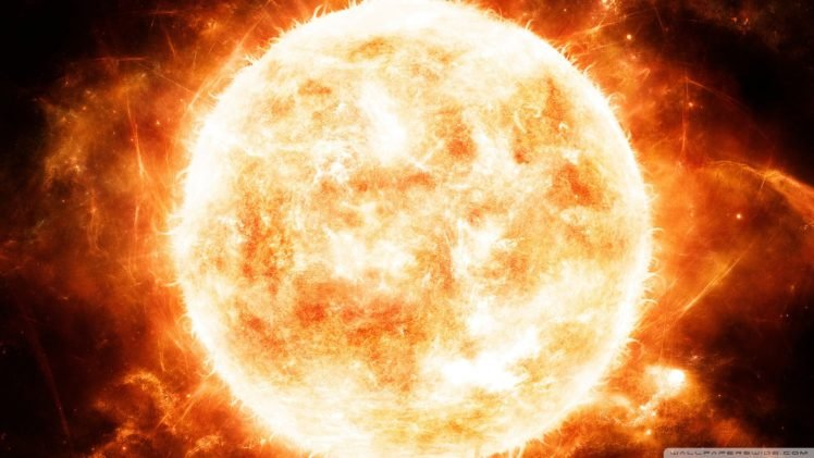 Sun, Digital art, Space art, Space HD Wallpaper Desktop Background