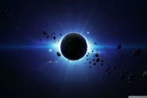 space art, Planet, Space, Digital art