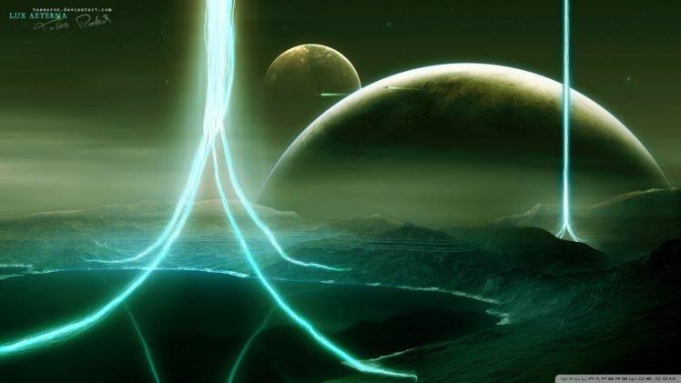 Vitaly S Alexius, Space art, Planet HD Wallpaper Desktop Background