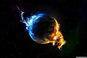 fire, Space art