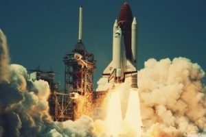 space shuttle, Lift off