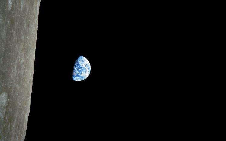 Earth, Moon, Space HD Wallpaper Desktop Background