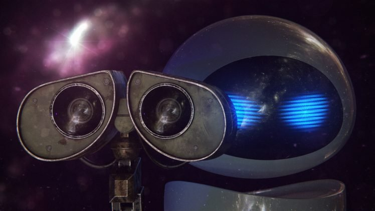 Wall E Eva Pixar Animation Studios Space Hd Wallpapers Desktop And Mobile Images Photos