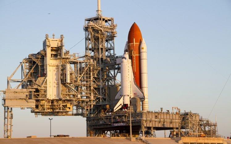 Space Shuttle Endeavour, NASA, Launch pads HD Wallpaper Desktop Background
