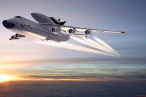 aircraft, Antonov An 225, Antonov An 225 Mriya, Space shuttle
