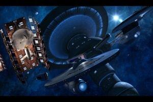 Star Trek, USS Enterprise (spaceship), USS Excelsior, Space station, Space