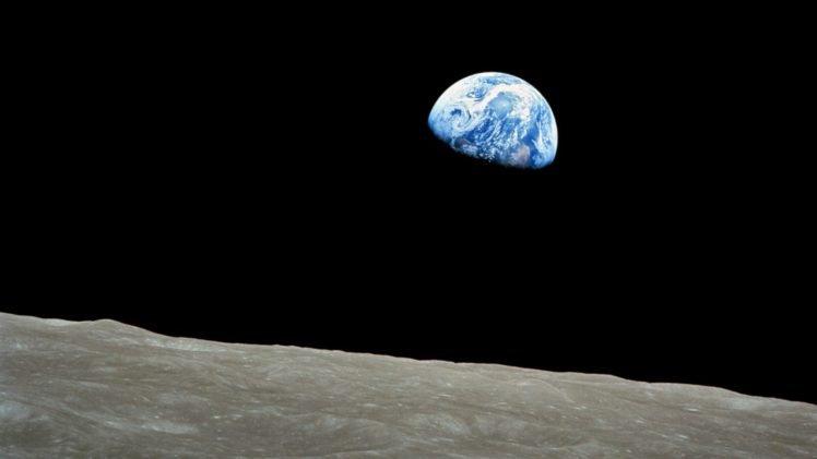 moon, Earth, Apollo, Space HD Wallpaper Desktop Background