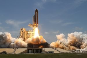 space shuttle, Launch, Space Shuttle Atlantis, NASA