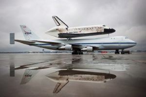 NASA, Boeing 747, Space shuttle, Discovery