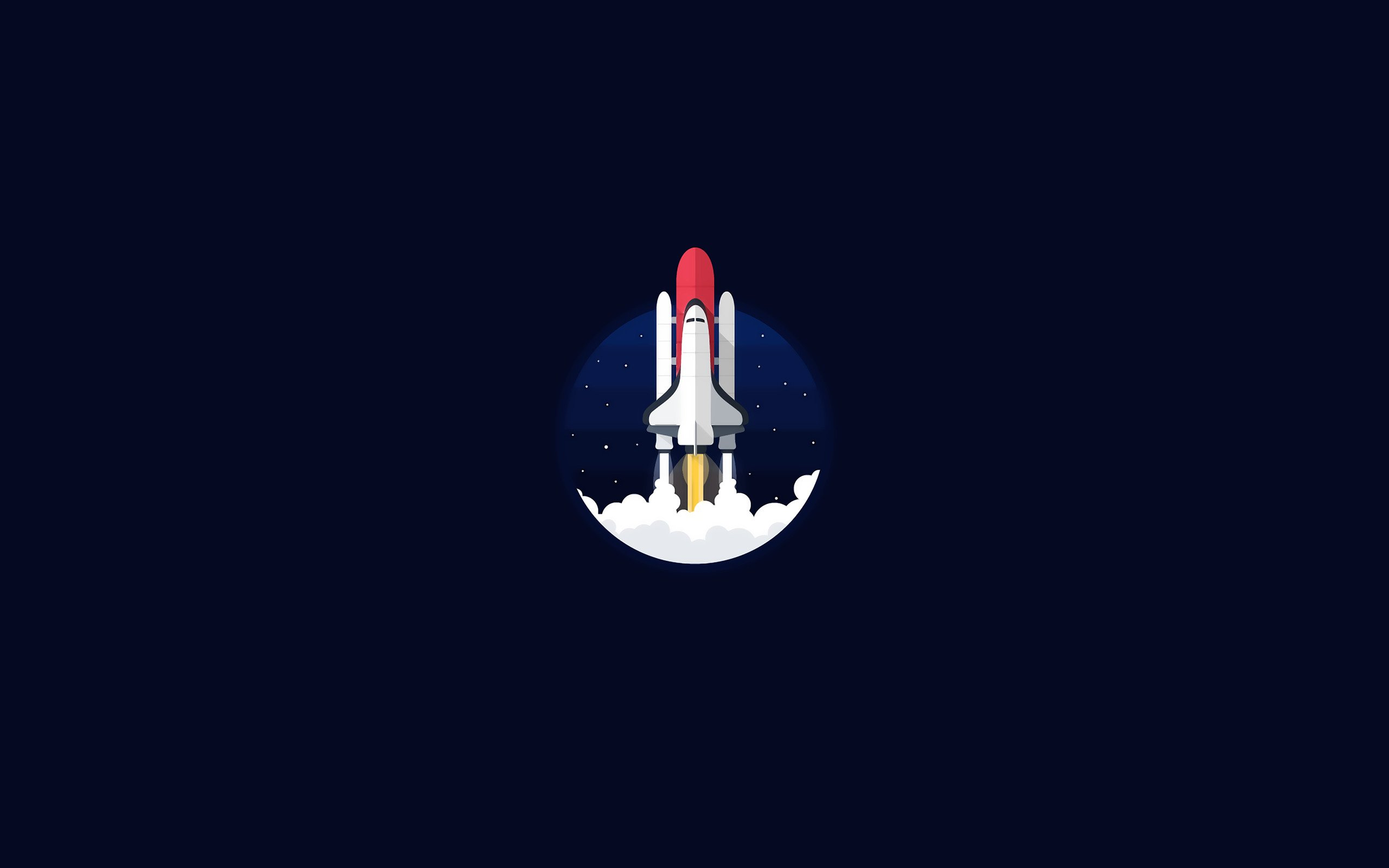 space shuttle, Minimalism, NASA Wallpaper