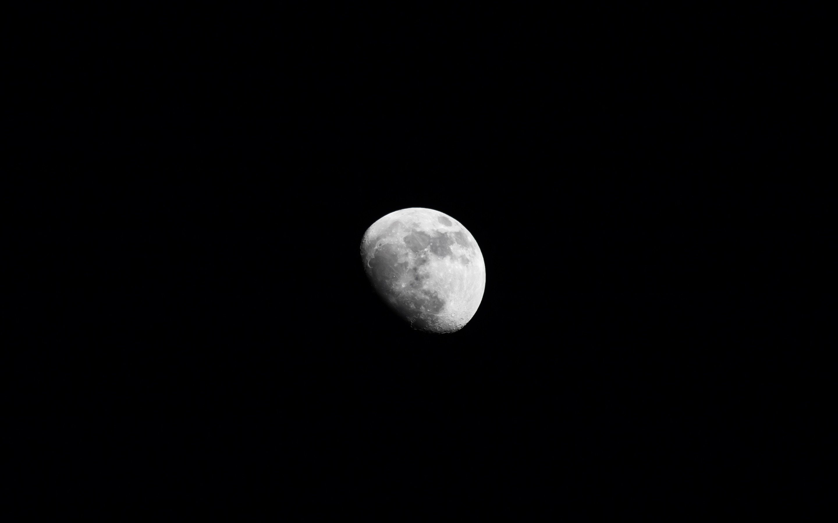 photography, Monochrome, Moon, Space Wallpaper