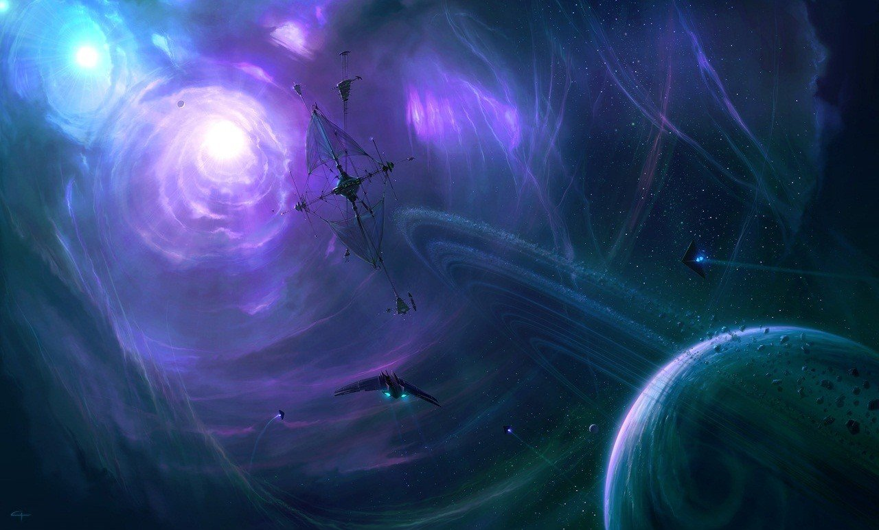 space, Science fiction Wallpaper