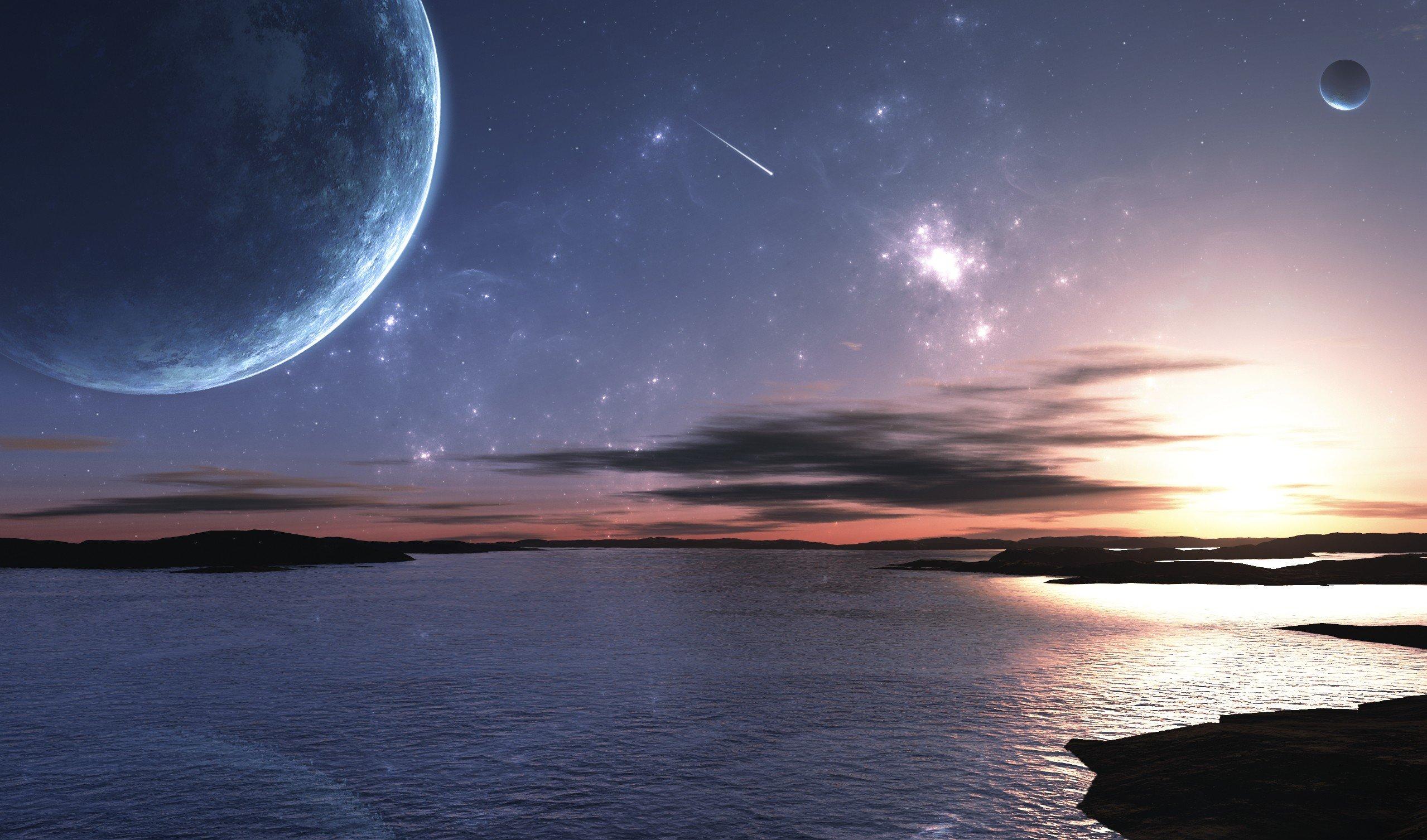 amazing shooting stars space - photo #38
