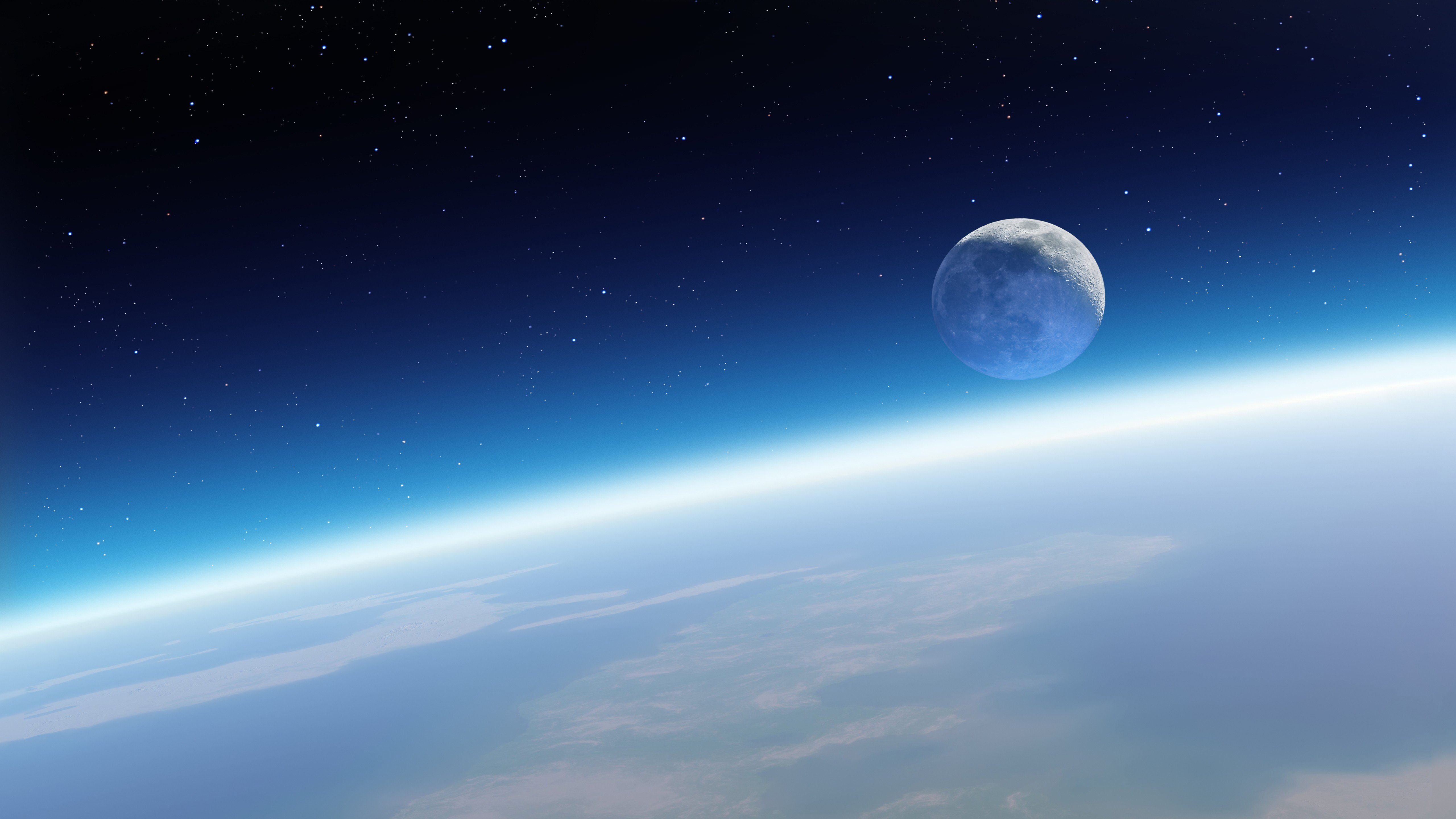 Space earth moon hd wallpapers desktop and mobile - Space moon wallpaper ...